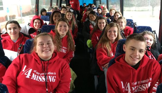 Youth Life Defenders DC bus trip is full! Leaving from Fort Wayne, Indiana. Waitlist available!