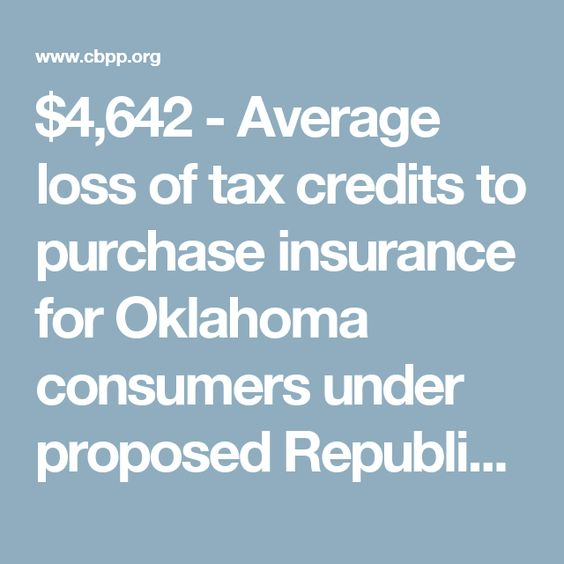 $4,642 - Average loss of tax credits to purchase insurance for - care plan