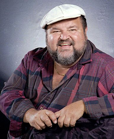 Dom DeLuise - A fellow audience member for a production of a musical performed at a theater in North Hollywood, c. 2007