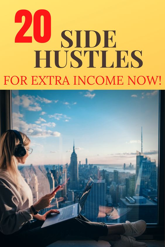 Side hustles are something people do in addition to their regular jobs to make a little extra money. If you choose the right side hustle, you can make a lot more than a little extra money. I'm a huge fan of earning more money, and I think everyone should have a side hustle. Side hustling can allow you to earn that little bit of extra money that can help you achieve your financial goals faster – whether it's paying off student loans, saving for retirement, or building PASSIVE INCOME! #sidehustle