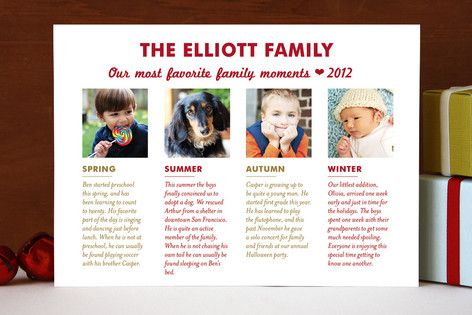 Favorite Moments Holiday Photo Cards by Emily Ranneby at minted.com