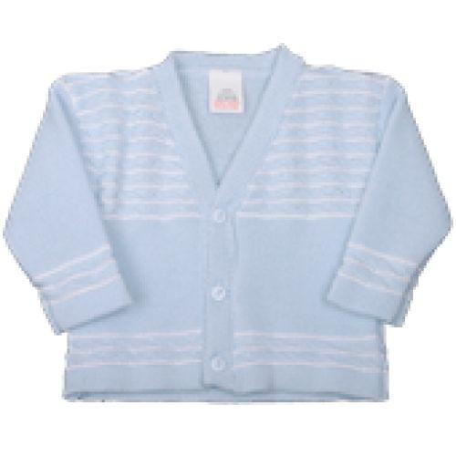 Pequilino Baby Boy Pale Blue Cardigan