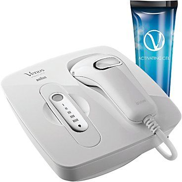 Pin for Later: At-Home Hair-Removal Techniques That'll Get Your Legs Ready For Spring Gillette Venus Naked Skin IPL Hair Removal System Gillette Venus Naked Skin IPL Hair Removal System (£350)