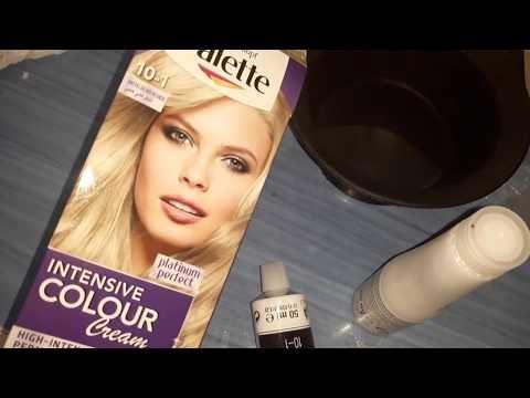 صبغ أطراف الشعر الاومبري باللون الاشقر الذهبي بطريقتي السهلة Comment Faire Un Ombre Hair Youtube Color Intense Cream