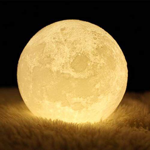 Aktualisieren Mondlampe Ibell 3d Nachtlicht Nachttischlampe