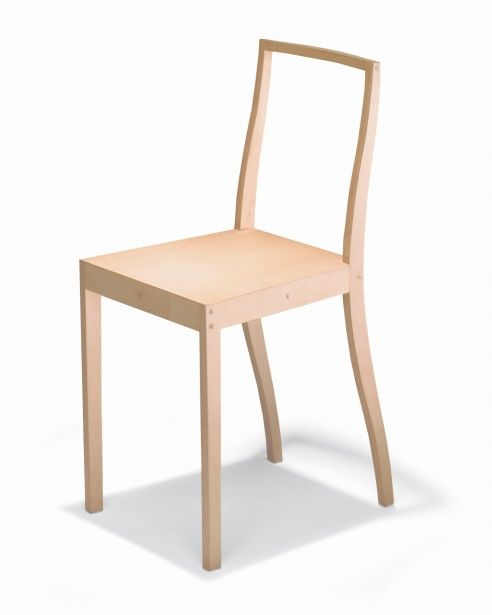 Thingness A Jasper Morrison Retrospective At Bauhaus Archiv Plywood Chair Chair Jasper Morrison