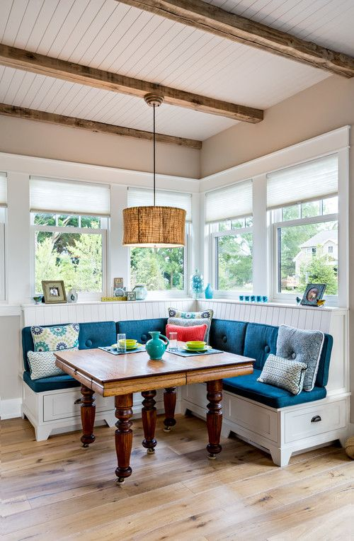 Bright And Cheery Breakfast Nook Ideas Dining Booth Dining Nook Dining Corner