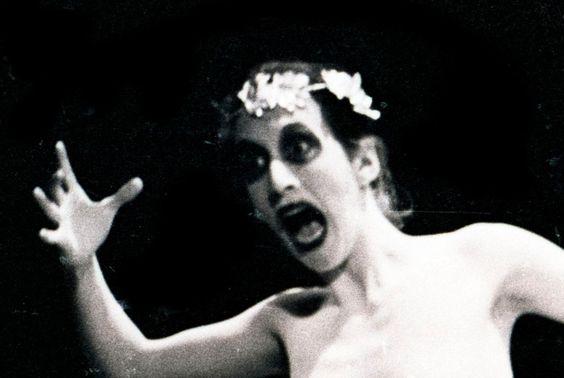 """""""Macunaíma"""", direção de Antunes Filho, no Teatro Presidente, Porto Alegre, julho de 1979."""
