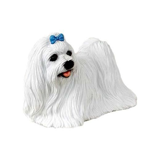Maltese Standard Dog Figurine Maltese Dog Breed Maltese Statue