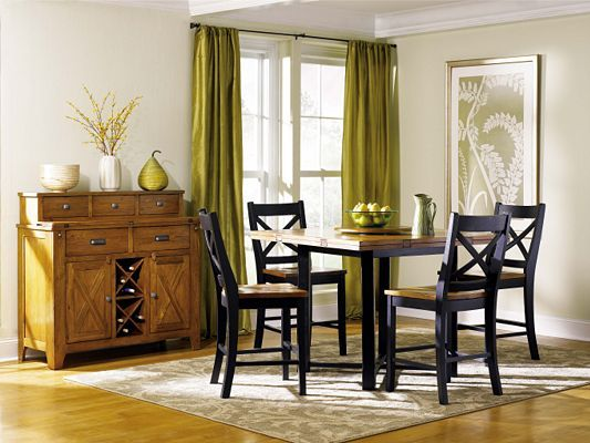 Dining rooms squares and furniture on pinterest for Dining room tables havertys