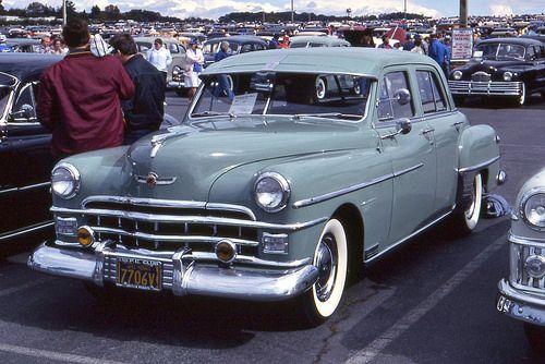 1950 Chrysler Windsor 4 Door Google Search Chrysler Windsor