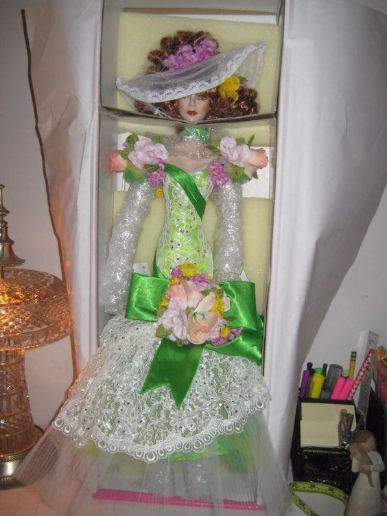"Bob Mackie Spring Doll Legendary Beauties Barbie 24"" mint NIB w Authentication #Barbie #Dolls"
