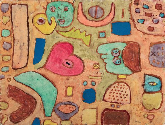 Paul Klee: 'Early and Late Years, 1894-1940' and 'The Bauhaus Years' - NYTimes.com