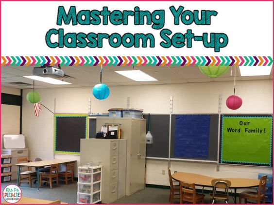 Classroom Improvement Ideas ~ Setting up your special education classroom student the