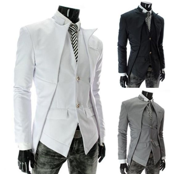 cool mens suits | New Brand British Style Slim Men Suits Mens