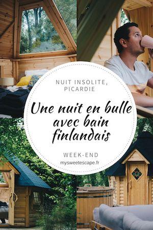 Une Nuit A La Bulle En Bois Kota Finlandais De Chantilly Avis Nuit Insolite Week End Insolite Et Idee Week End Amoureux