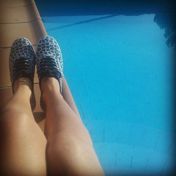 #VANS #Leopardprint #Leopard  #Swimmingpool #Summer #style #womanstyle #fashion
