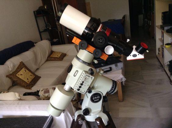 Mi telescopio solar Lunt 60