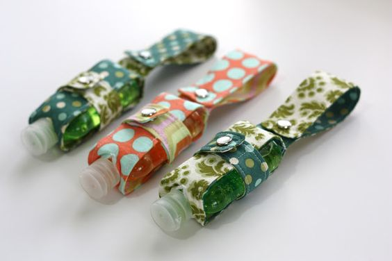 Hand Sanitizer Holders – Sew Much Ado