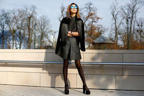 無法抵擋的魅力:巴黎時裝週街拍精彩總回顧