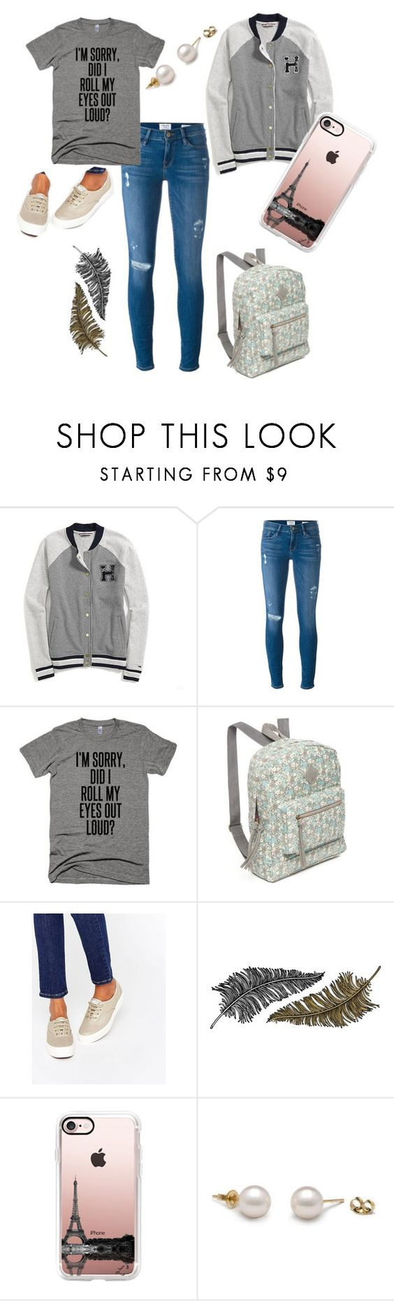 """""""Sin título #58"""" by clara-bidault on Polyvore featuring moda, Tommy Hilfiger, Frame Denim, Red Camel, Keds, Paperself y Casetify"""