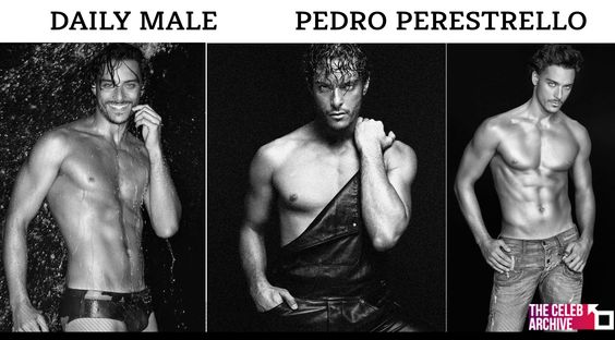 DAILY MALE - Exotic and seductive, male model from Brazil Pedro Perestrello. Pictures > http://www.thecelebarchive.net/ca/gallery.asp?folder=/Pedro%20Perestrello/
