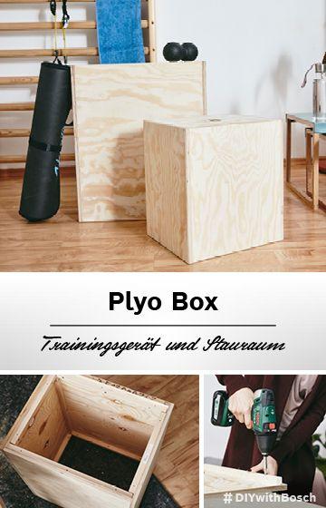 Plyo Box Mit Dieser Diy Holzkiste Steigerst Du Deine Sprungkraft In 2020 Diy Mobel Ideen Selber Bauen Diy Projekte Mobel