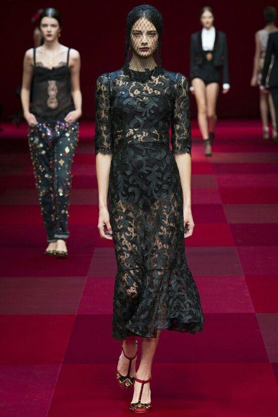 Dolce Gabbana Fall Summer 2015