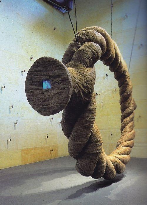 Ann Hamilton's giant Rope
