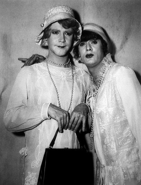 Jack Lemmon y Tony Curtis en 'Con faldas y a lo loco' de Billy Wilder (1959)