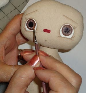 Tutorial for doll eyes (paint):