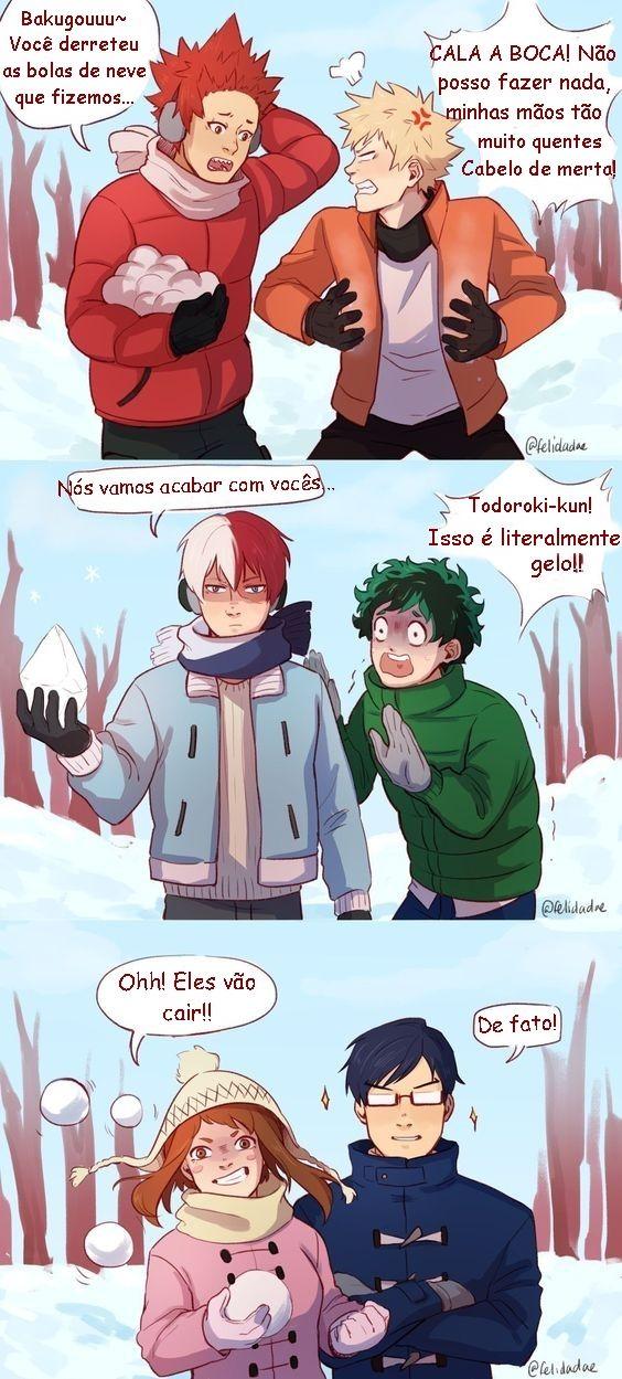 Eu Apenas Traduzi Creditos Ao Tradutor Original Tododeku Anime Engracado Izuku Midoriya
