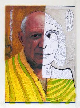 Jacques Lizène, 'génétique Escultura, 1970 en el remake de 2015, técnica mixte, 120 x 73 cm,' 2015, Nadja Vilenne