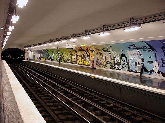 ligne 12 station assemblée nationale