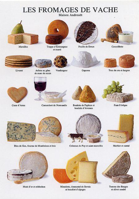 Les fromages de Vache: