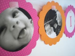 Handmade photo garland - perfect party banner