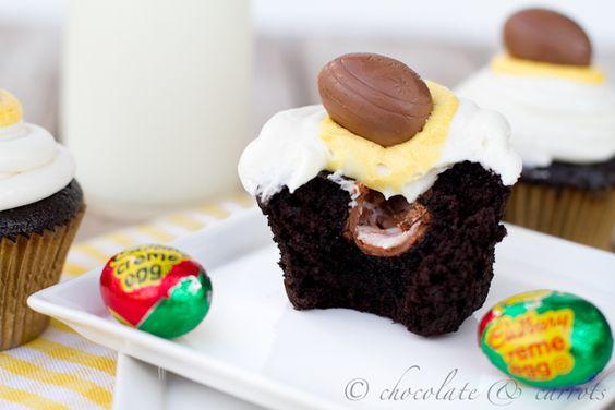 Cadbury Creme Cupcakes(kinda)
