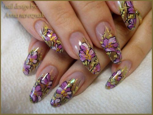 Floral Fantasy Nail Art Gallery Nail Art Pinterest Nail Arts