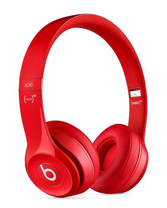 Beats By Dre Red Solo 2 Wireless Headphones