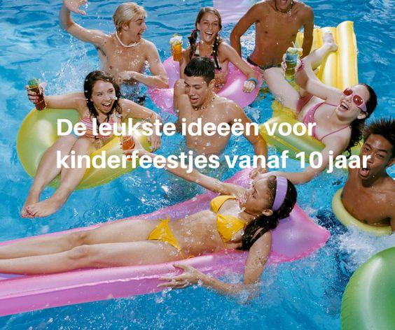 ... voor #Teenagers De leukste ideeën voor #kinderfeestjes vanaf 10 jaar