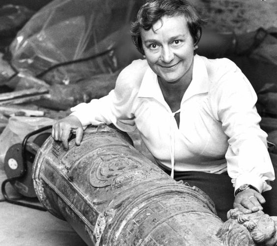Doctor Margaret Rule CBE, the woman who raised the Mary Rose, crossed the bar - http://indianasarah.com/on-margaret-rule/  #indianasarah #blogging #adventures #underwater #margaretrule #maryrose #maritime #archaeology #diving #portsmouth #shipwrecks