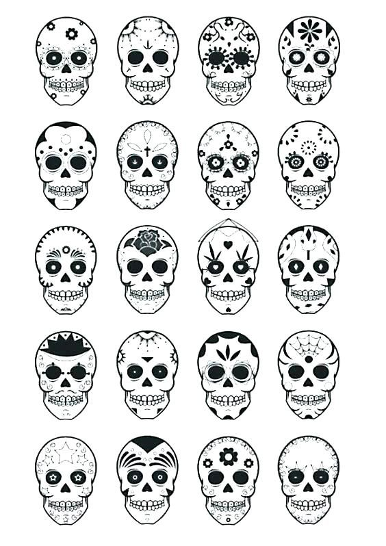 Sugar Skull Mask Coloring Pages - Get Coloring Pages | 798x564
