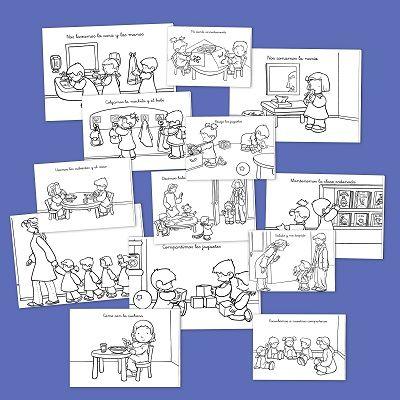 Normas y h bitos en clase dibujos de normas y h bitos en for Actividades en el salon de clases