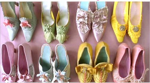 Marie Antoinette movie shoes - ahhhh