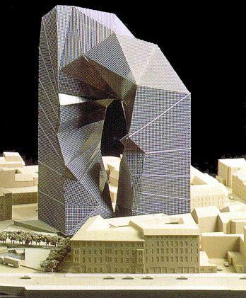 Max Reinhardt Haus Berlin by Peter Eisenman: