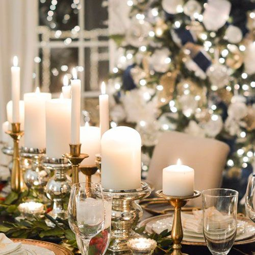 Christmas Dinner Table Decorations 2020 35 Best DIY Christmas Centerpieces: Easy + Creative Ideas (2020