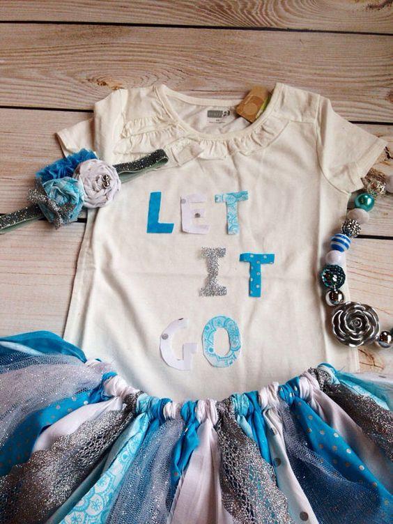 Frozen Tutu Frozen Outfit Queen Elsa Baby by FreshVioletsBowtique