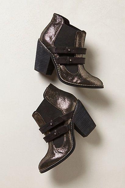 Elbaz Leather Booties