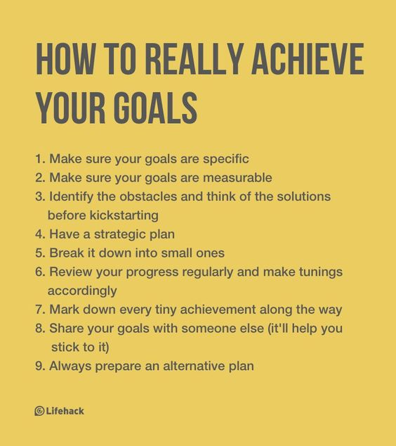 Have you set your goals ambitiously but ended up achieving little?
