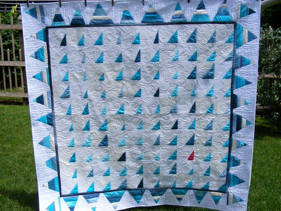 tia curtis quilts: Seaglass Quilt